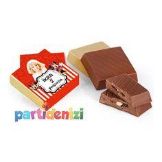Minnie Mouse  Temalı Kişiye Özel Çikolata 10-lu