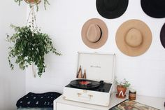 New Darlings - Recent Snaps - Record player, hats and indigo