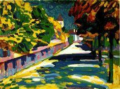 Autumn in Bavaria -  Wassily Kandinsky