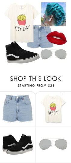 """""""Friday is too far away from now"""" by spiritstar1123 on Polyvore featuring Topshop, Vans, Acne Studios and Lime Crime"""