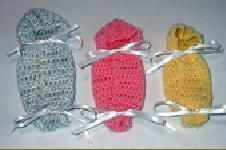 *Free Crochet Pattern:  Warm Hearts~Warm Babies | Patterns | Burial Bunting