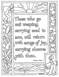 Coloring Pages for Kids by Mr. Adron: Psalm 94:19 Bible Verse of ...