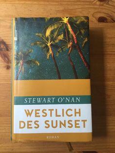 Stewart O'nan Westlich Des Sunset Roman Über F Scott Fitzgerald Hardcover | eBay