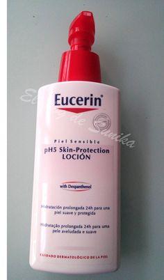 Loción corporal hidratante de Eucerin para piel sensible
