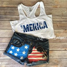 Womans Merica RacerBack Tank Top by Theplushboutique on Etsy https://www.etsy.com/listing/287614531/womans-merica-racerback-tank-top