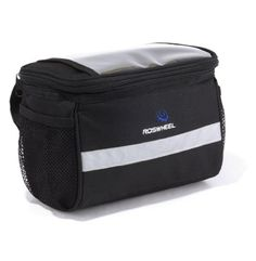 Bike Baskets - Cycling Bike Bicycle Handlebar Zipped Bag Front Basket with Clear Map Pocket >>> Learn more by visiting the image link.