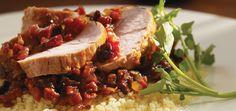 Filets de porc au chorizo et aux pruneaux Recettes | Ricardo