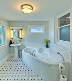 Epic 25 Best Home Bathroom Design Ideas With a Small Tubs https://bosidolot.com/2018/02/01/25-best-home-bathroom-design-ideas-with-a-small-tubs/
