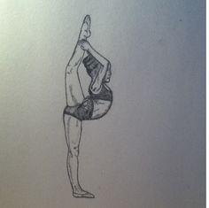 An amazing dance drawing!