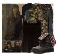 Kira Yukimura-De-Void by elenadobrev90 on Polyvore featuring polyvore, мода, style, Vintage 55, River Island, Dr. Martens and Vans