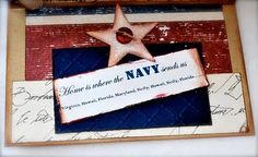 Home is where the Navy sends us
