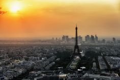 Paris Skyline In The Morning Cloth Placemat - beauty gifts stylish beautiful cool Skyline Von Paris, Top 10 Honeymoon Destinations, Europe Destinations, Parks, Pray For Paris, Paris Climate, Hotels, See The Sun, Visit France