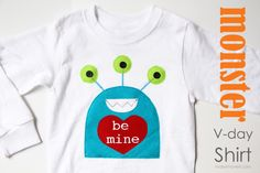 Monster Valentines day shirt