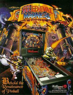 Pinball Machines - Medieval Madness Pinball Machine - The Pinball Company
