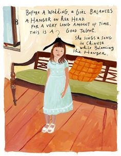Maira Kalman.  So weird but also awesome...