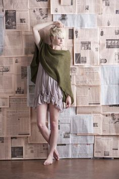 Soft Kid Wrap - Knitting Daily