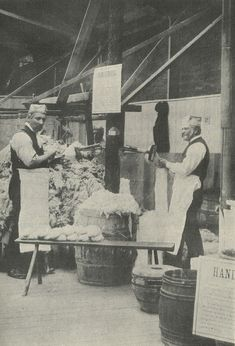 The History of Wool and Wool Combing James Burnely, 1889 Hand woolcombers