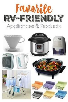 RV-friendly appliances and products :: Instant Pot, Dehumidifier, Electric Skillet, more
