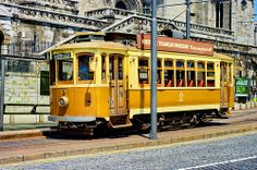 Porto, le vieux Tram, direction Passeio Allegre 2