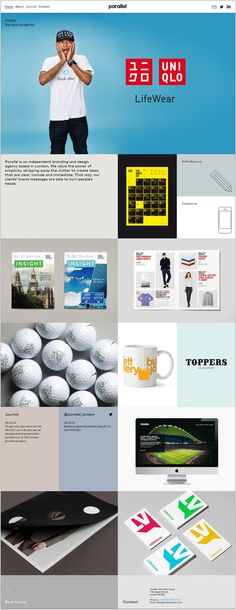 Studio Parallel | Interactive / UI | Pinterest