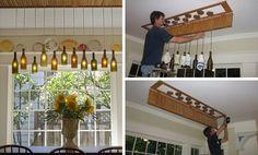 wine bottle crafts | FollowPics