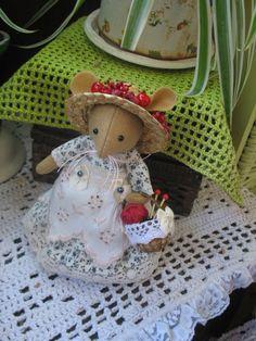 Miss Hornbeam...special order for Olga by dollsandbunnies on Etsy