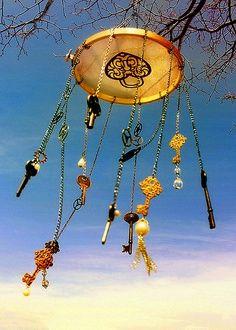 Keys wind chime <3