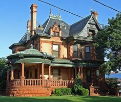 Awesome Green Victorian