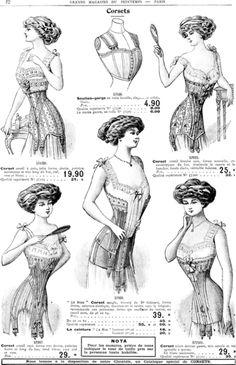 6-1-12 Advertisement from Grands magasins au printemps Paris, Winter 1909-1910