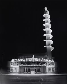 Academy Theater in Inglewood, CA 1940