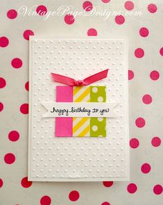 DIY Birthday Cards - Washi Tape Birthday Card - Easy and Cheap Handmade Birthday Cards To Make At Home - Cute Card Projects With Step by Step Tutorials are Perfect for Birthdays for Mom, Dad, Kids and Adults - Pop Up and Folded Cards, Creative Gift Card Holders and Fun Ideas With Cake http://diyjoy.com/diy-birthday-cards