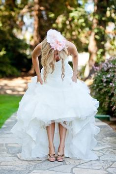 Beautiful bride shoes