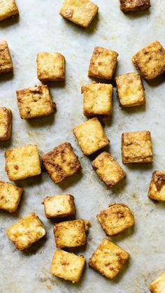 Learn how to make crispy baked tofu! No frying required in this recipe. Perfect results every time.
