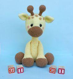 giraffe crochet pattern, giraffe doll, giraffe toy, crochet giraffe More