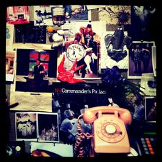 inspiration board from this awesome NOLA store. Nadine Blake