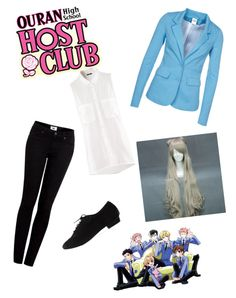 """ouran high school host club"" by amieraphael ❤ liked on Polyvore"