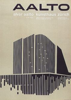 exhibition poster by Walter Diethelm (1964)