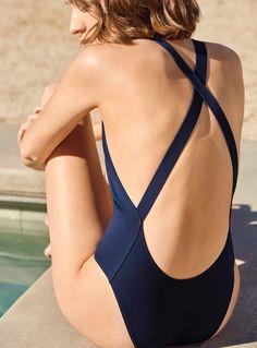 Shop stylish women's swimwear at FABKINI & find tankinis, bikinis, one-piece swimsuits, monokinis & more. Cos Swimwear, Swimwear Fashion, Swedish Fashion, Mode Boho, Mode Outfits, Fashion Outfits, Mode Style, Beachwear, Bathing Suits