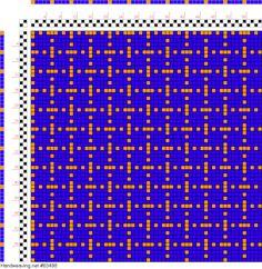 draft image: Figurierte Muster Pl. XVII Nr. 6, Die färbige Gewebemusterung, Franz Donat, 2S, 2T