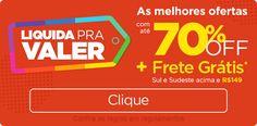 Liquida Pra Valer Até 70% OFF - Aproveita! - Site de Desconto
