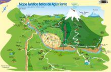 Ubicación de Baños Ecuador