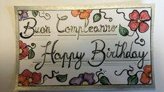 Buon compleanno happy birthday  disegno