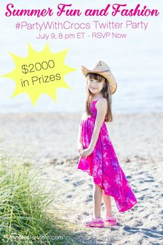 PartyWithCrocs - Summer Fun and Fashion Twitter Party
