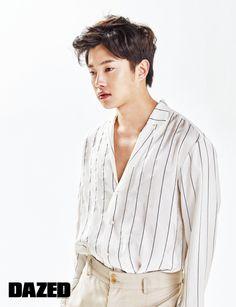 Kim Min Suk in Dazed and Confused Korea June 2016 Look 3 Korean Male Actors, Asian Actors, Korean Idols, Korean Drama, Kim Min Suk, Jun Matsumoto, Hong Ki, Song Joong, Park Hyung
