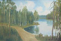 Kalle Aaltonen: Maisema, öljymaalaus Painting, Ideas, Art, Art Background, Painting Art, Kunst, Paintings, Performing Arts, Painted Canvas