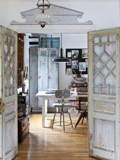brocante interieur hout vintage industrial industrial style industrial lockers industrial office vintage