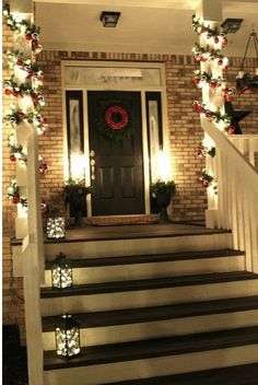 56 amazing front porch christmas decorating ideas future home