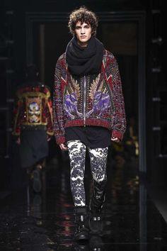 Male Fashion Trends: Balmain Fall-Winter 2017 - Paris Fashion Week