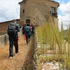 Walking over the walls at Plasencia Silver Way, #Spain