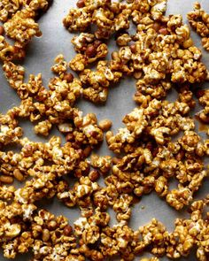 Caramel Corn with Peanuts Recipe